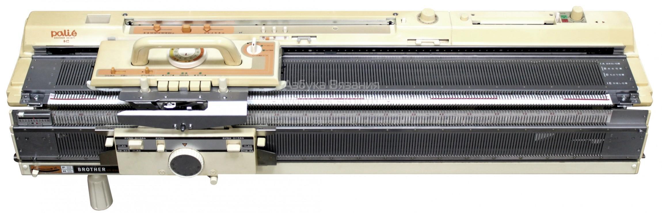 Brother машинка для вязания 44